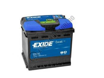 Acumulator Auto Exide Excell 50 Ah cod EB5001