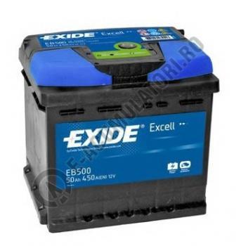 Acumulator Auto Exide Excell 50 Ah cod EB5000