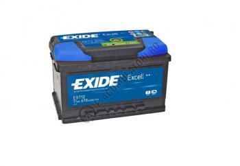 Acumulator Auto Exide Excell 71 Ah cod EB7122