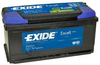 Acumulator Auto Exide Excell 85 Ah cod EB8520