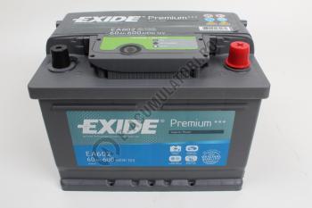 Acumulator Auto Exide Premium 61 Ah cod EA6123