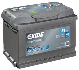 Acumulator Auto Exide Premium 61 Ah cod EA6120