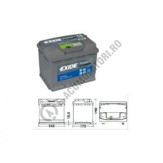 Acumulator Auto Exide Premium 64 Ah cod EA6402