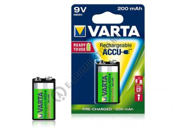 Acumulator Varta 9V 200 mAh blister 1 buc