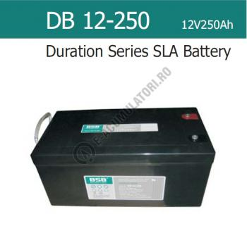 Acumulator VRLA  BSB 12 V 250 Ah cod DB12-2500
