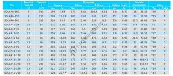 Acumulator VRLA cu GEL BSB 12 V 65 Ah cod SOLAR12-651