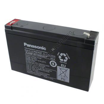 Acumulator VRLA Panasonic 6V 7.2 Ah cod LC-P067R2P (F187)0