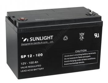 Acumulator VRLA SUNLIGHT 12V 100 Ah cod SPB 12-1000