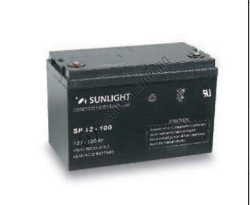Acumulator VRLA SUNLIGHT 12V 100 Ah cod SPB 12-1001