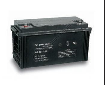 Acumulator VRLA SUNLIGHT 12V 120 Ah cod SPB 12-1201
