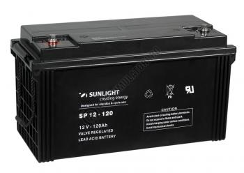 Acumulator VRLA SUNLIGHT 12V 120 Ah cod SPB 12-1200