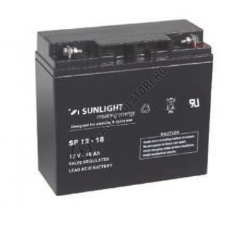 Acumulator VRLA SUNLIGHT 12V 18 Ah cod SPA 12-181