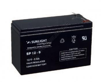 Acumulator VRLA SUNLIGHT 12V 9 Ah cod SPA 12-91
