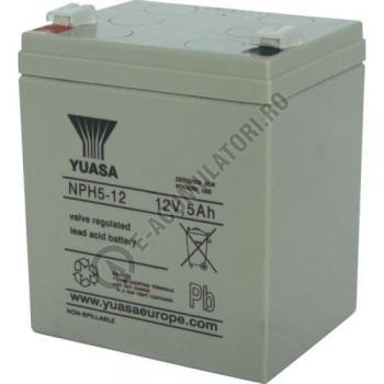 Acumulator VRLA Yuasa 12V 5 Ah NPH5-121