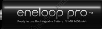 Acumulatori Panasonic Eneloop Pro AA 2500mAh 500 cicluri, bl 4 buc BK-3HCDE/4BE1