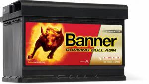 Baterie Auto Banner Running Bull AGM 70 ah cod 570010