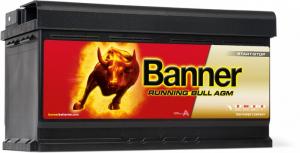 Baterie Auto Banner Running Bull AGM 92 ah cod 592010