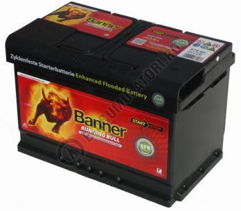 Baterie Auto Banner Running Bull EFB 70 Ah cod 570111