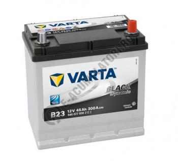 BATERIE AUTO VARTA BLACK 45 Ah cod B23 - 54507703031220