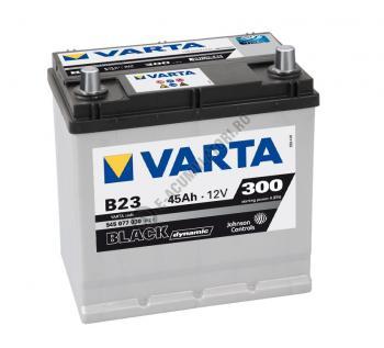 BATERIE AUTO VARTA BLACK 45 Ah cod B23 - 54507703031221