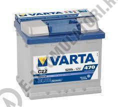BATERIE AUTO VARTA BLUE 52 Ah cod C22 - 55240004731321