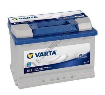 BATERIE AUTO VARTA BLUE 74 Ah cod E11 - 57401206831320