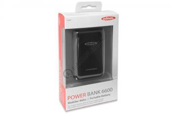 Acumulator extern Ednet Power Bank 6600mAh cod 318872
