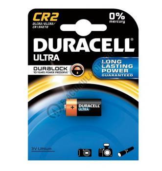 Baterie litiu Duracell 3V, CR2 blister 1 buc0
