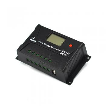 Controller solar Powersave PWM 20A 12/24V USB output SR-HP2420-S0