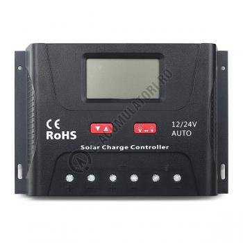 Controller solar Powersave PWM 30A 12/24V SR-HP24300
