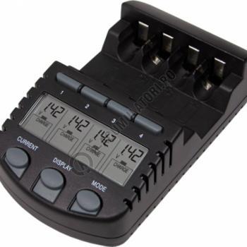 Incarcator inteligent LaCrosse multifunctional RS700-BLI AA/AAA0