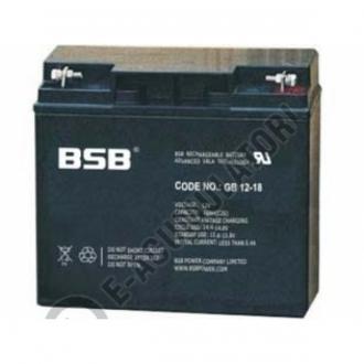 Acumulator VRLA BSB 12V 18 Ah cod GB12-181