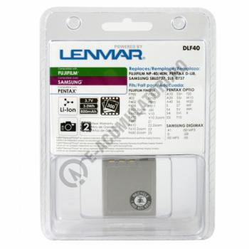 FujiFilm NP-40 Replacement Battery by Lenmar1