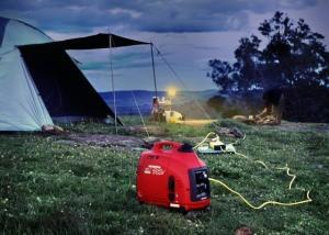 Generator digital HONDA monofazat 1kw 2.7CP EU10iT1 tip G2