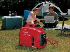 Generator digital HONDA monofazat 1kw 2.7CP EU10iT1 tip G3