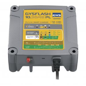 Incarcator redresor universal Plumb Litiu LIFEPO4 GYS cu protectie IP43 - 0270600
