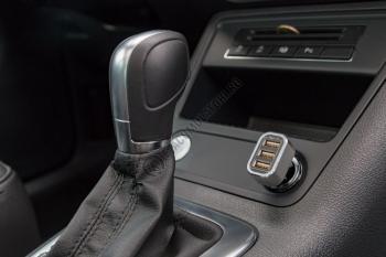 Incarcator auto Goobay Triple USB 5.5 A cod 442111