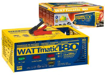 Incarcator si redresor PROFESIONAL automat 6/12V GYS WATTMATIC 1800
