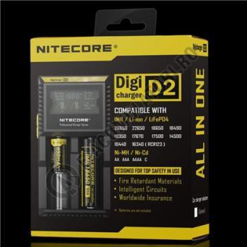 Incarcator Universal Inteligent NITECORE Digicharger D20