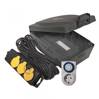 Kit cutie alimentare în aer liber Masterplug WBXIP38T/S-MP0