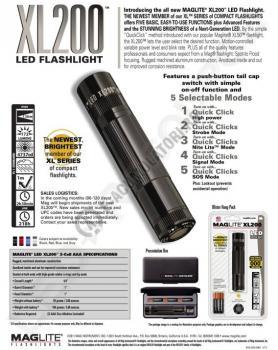 Lanterna cu LED Maglite XL2002