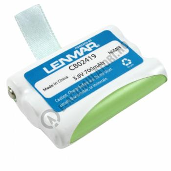 Lenmar Replacement Battery for AT&T 1231, 2125, 2725 Cordless Phones0