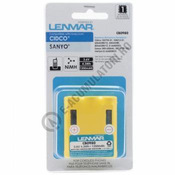 Lenmar Replacement Battery for Cidco CL-940, CL-980, CL-990, CL-991 Cordless Phones1