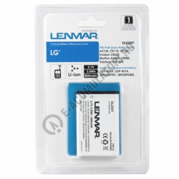Lenmar Replacement Battery for LG Invision, Rhythm Cellular Phones1