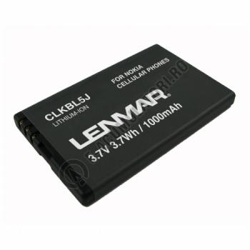 Lenmar Replacement Battery for Nokia 5800 XpressMusic,5802 XpressMusic Cellular Phones0