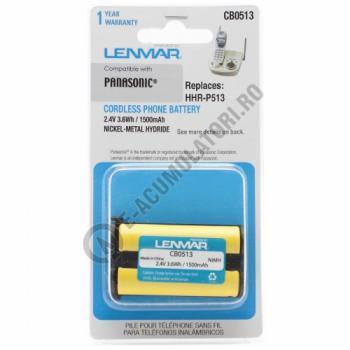 Lenmar Replacement Battery for Panasonic KX-TG Series Cordless Phones1