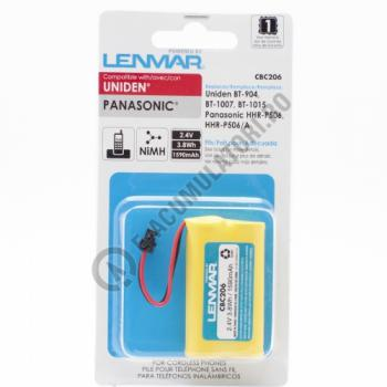 Lenmar Replacement Battery for Panasonic KX-TG2000, KX-TG4000 Cordless Phones2