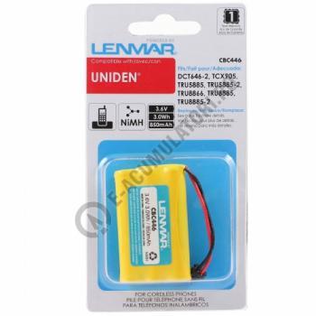 Lenmar Replacement Battery for Uniden DCT Series, DCX Series Cordless Phones2
