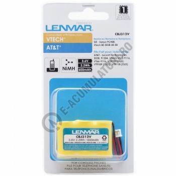 Lenmar Replacement Battery for V-Tech VT62-9116, VT66-9116, VT8118, VT9109 Cordless Phones1