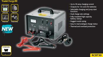 Starter si Incarcator RING TradeCharge 12/24V 30A RCBT301